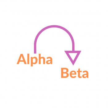 alpha to beta