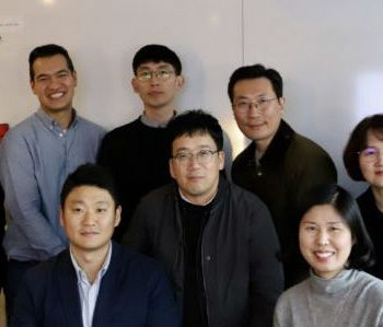 South Korean delegation and dxw staff